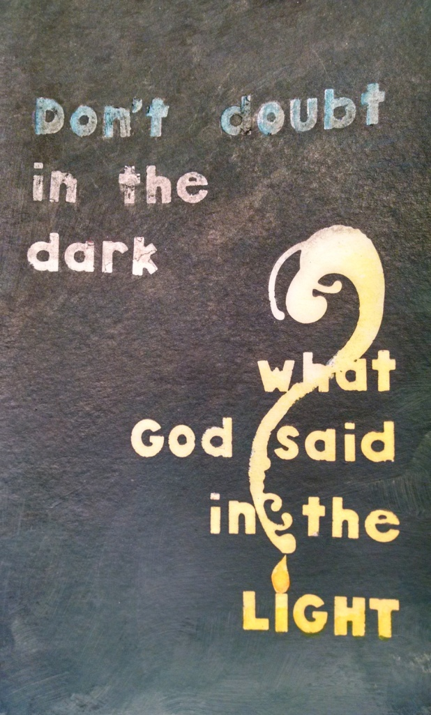 Doubt in the Dark