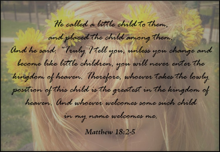 dandelion matthew 18